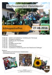 Schleppertreffen2016-Plakat